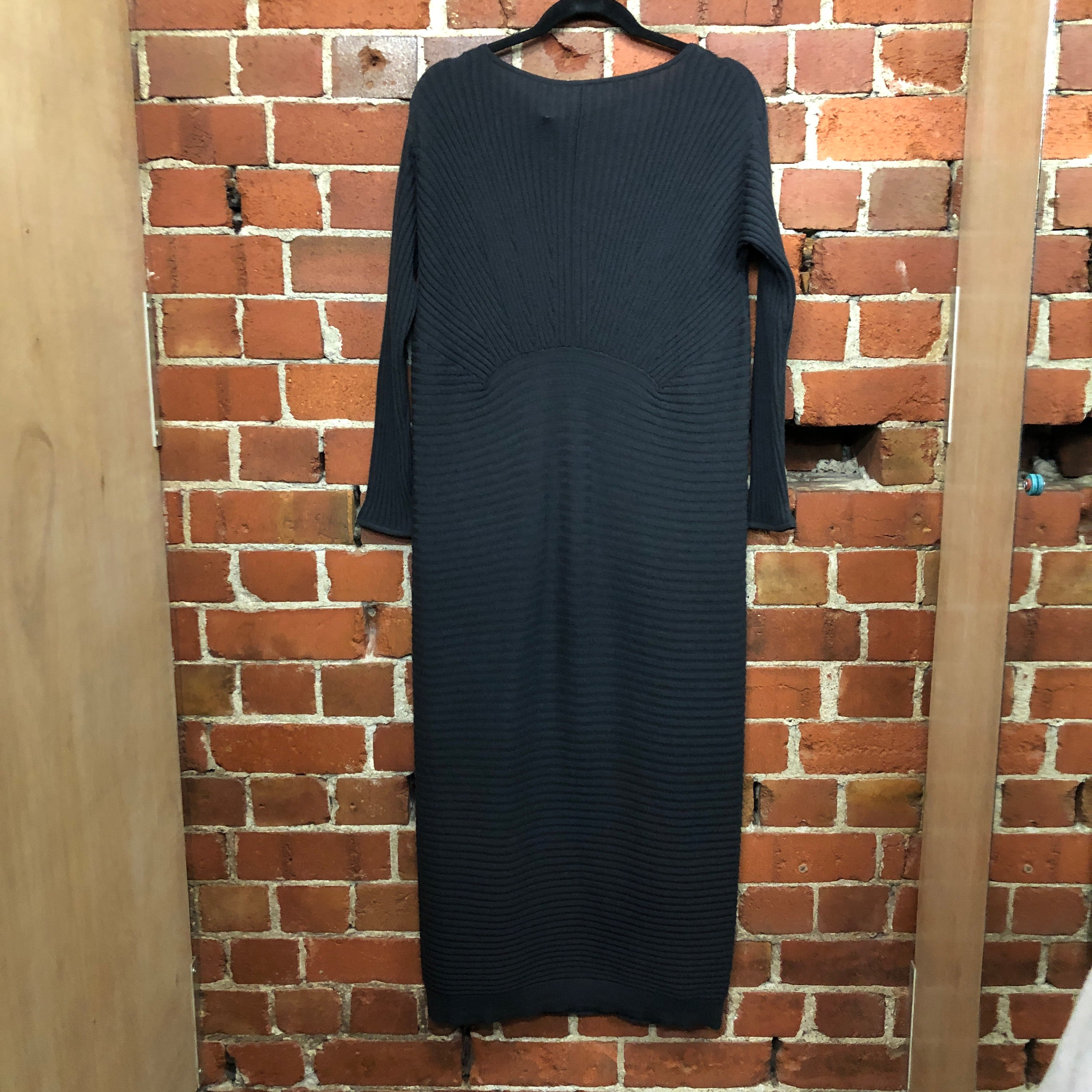 1946 NZ Made merino wool dress
