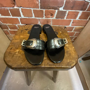 TOGA  leather slides 39