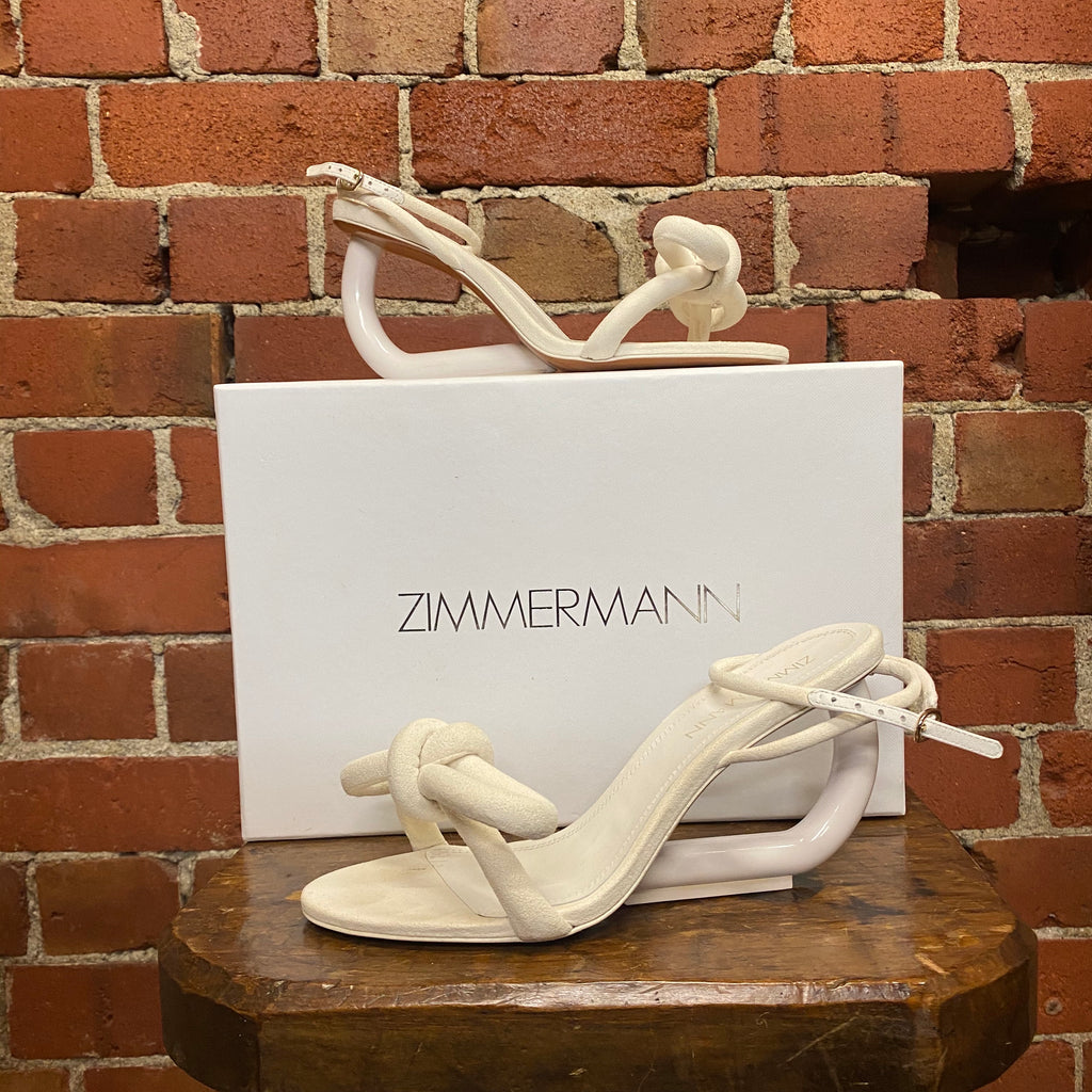 ZIMMERMAN bow heels 39