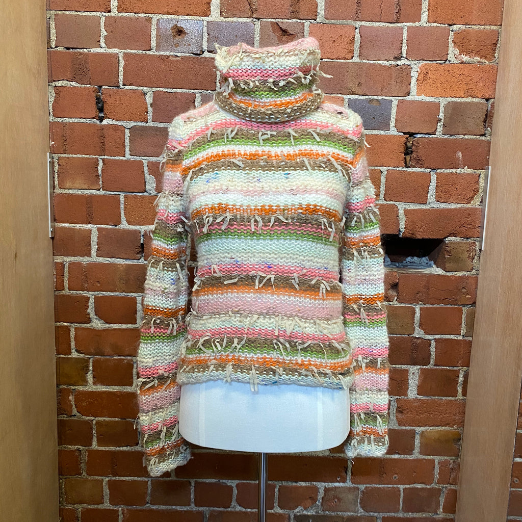 MOSCHINO 1990s wool jumper