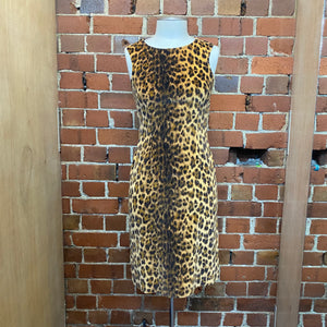 MOSCHINO 1990s leopard dress