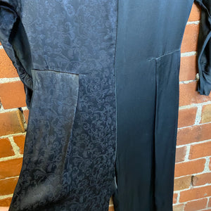 MULBERRY heavy silk satin jumpsuit
