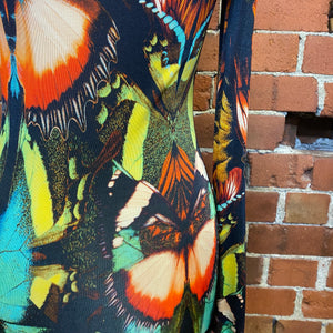 JEAN PAUL GAULTIER insect wing dress