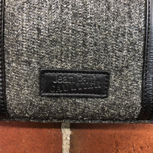 JEAN PAUL GAULTIER 1990s textured & leather handbag