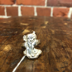 STG SILVER Egyptian ring