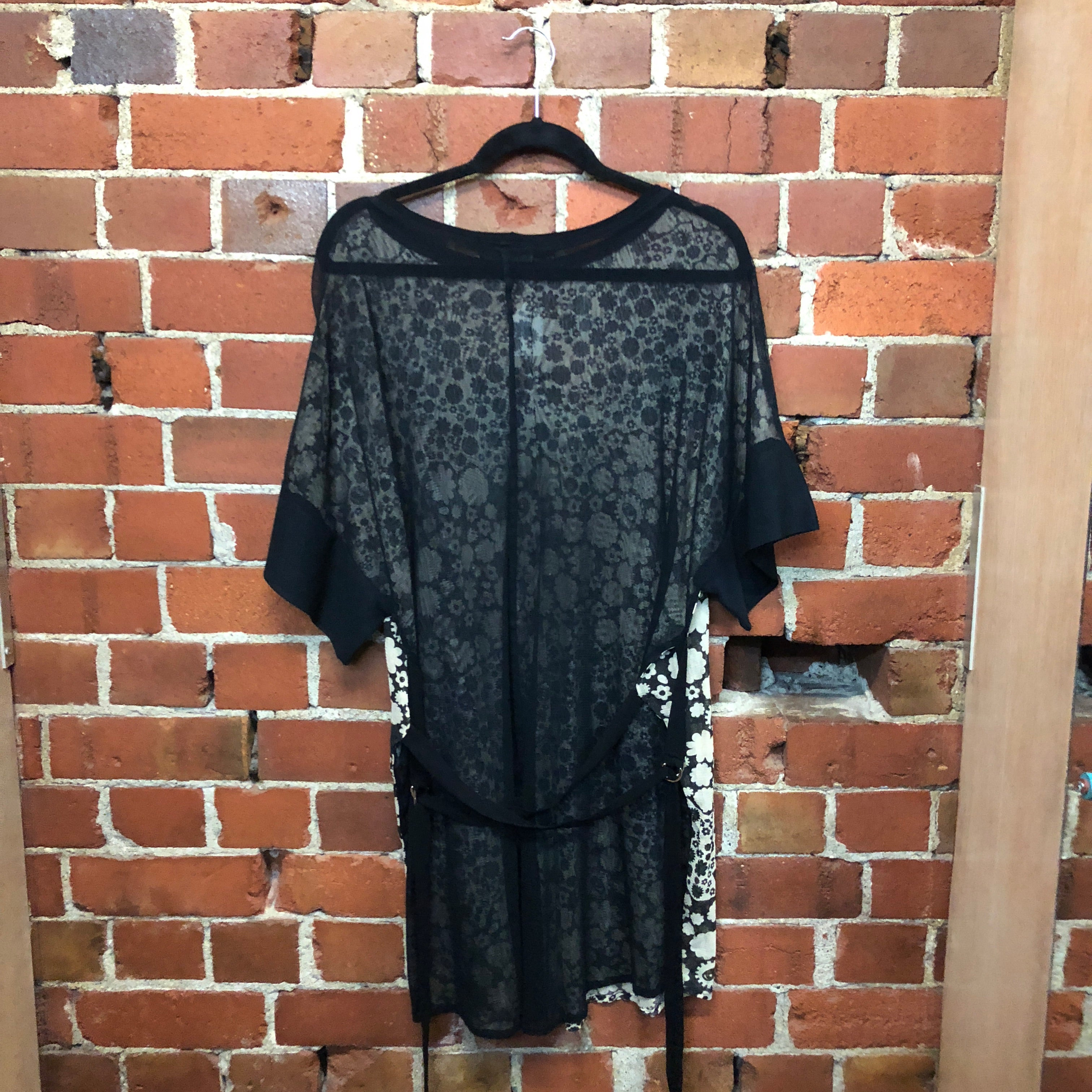 COMPANY OF STRANGERS new mesh dress