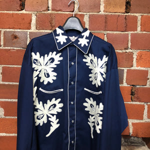 Ultimate embroidered western shirt!