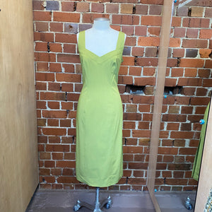 JOHN GALLIANO silk lined pencil dress 12/14
