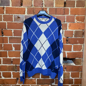 BURBERRY Argle wool jumper