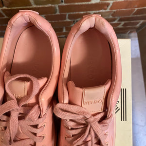KENZO patent pink sneakers 39