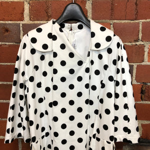 COMME DES GARÇON NEW polka dot cotton dress