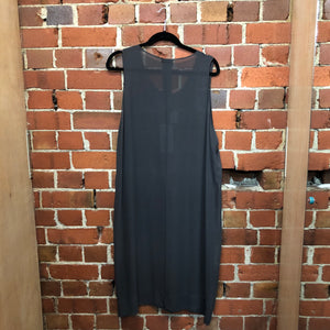 LELA JACOBS new silk slip dress L