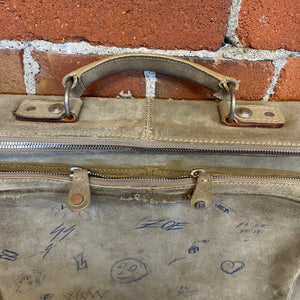 "MARTIN MARGIELA ""school"" leather satchel"