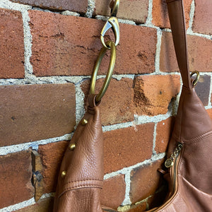 ERIC JARVITS NY Leather hobo bag