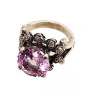WILLIAM GRIFFITHS Metal Couture Posy Ring