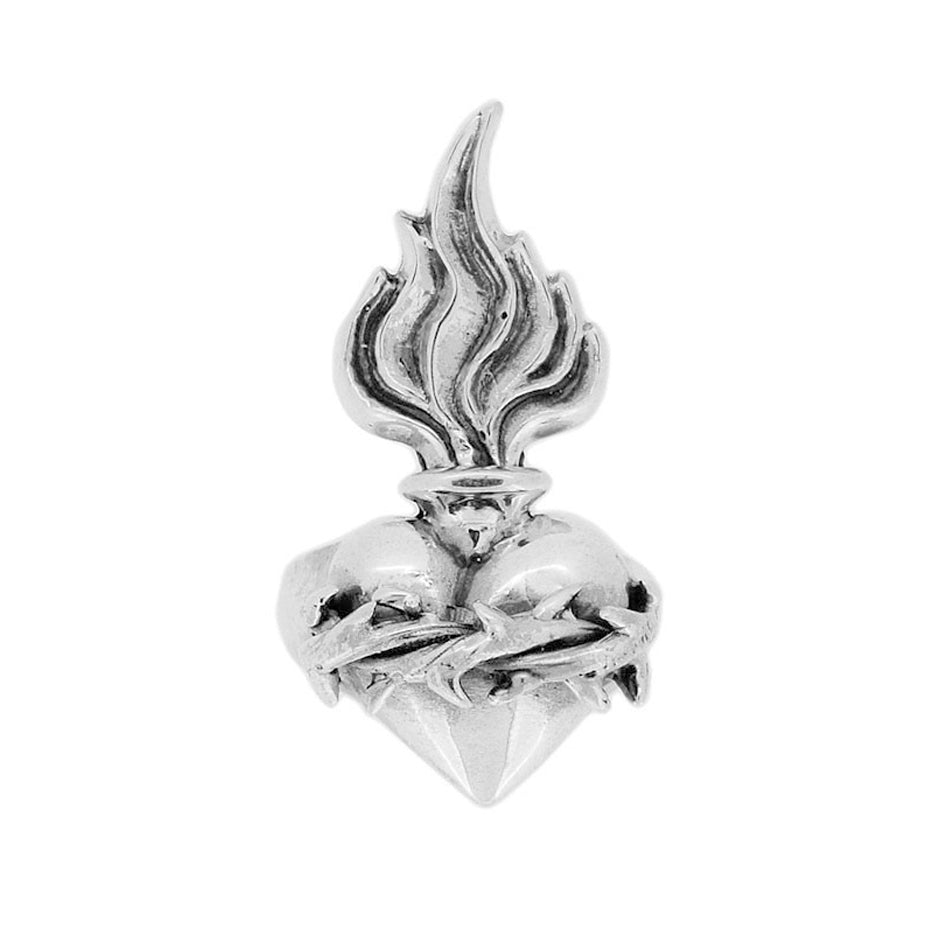 WILLIAM GRIFFITHS Metal Couture Sacred Heart ring