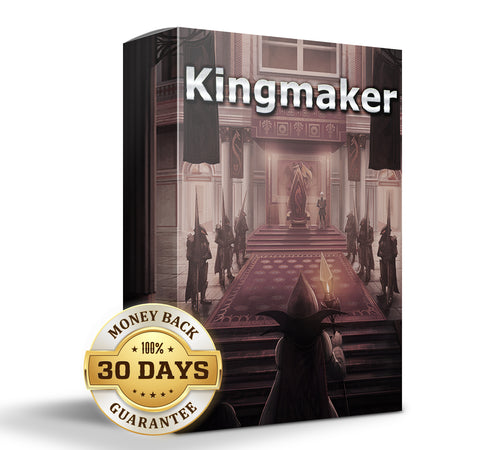 Kingmaker: Our Advanced All in One Subliminal containing all our products in a single hard hitting package.