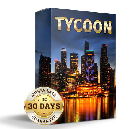 Tycoon: The Fearless Decision Maker. Acquire wealth and rise to social prominence.(Binaural Module)