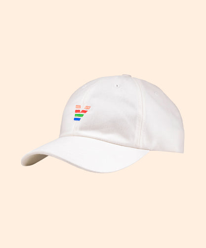 White Hat with Logo