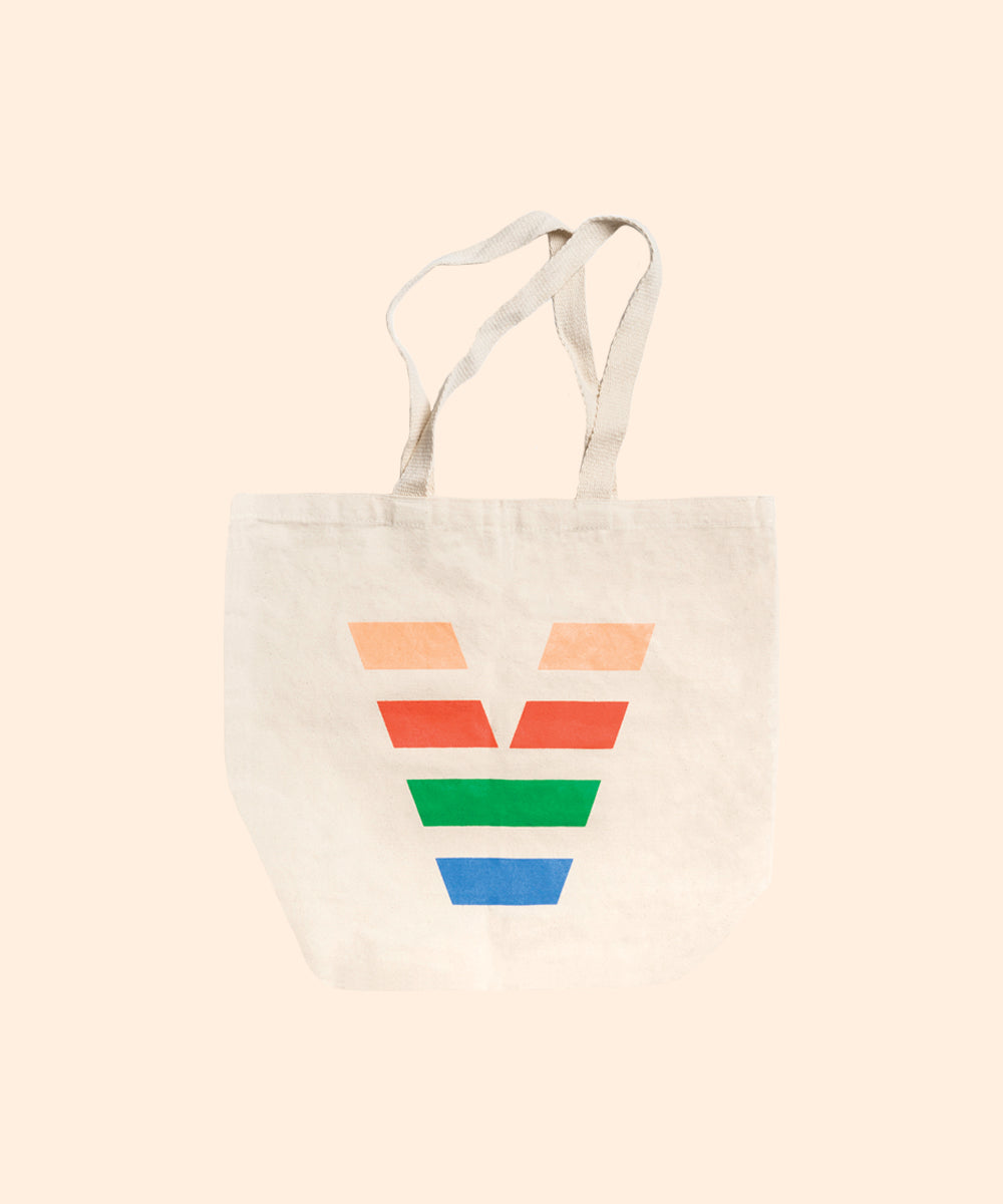 Canvas Tote with Logo