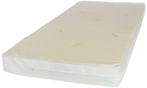 NightyNite ® NEXT TO ME Safer Crib Mattress TCCP FREE, with Coolmax and Maxispace over 83 x 50 - Cot Mattress Company