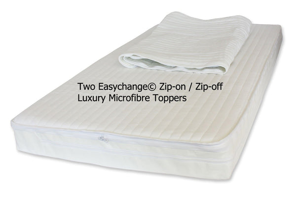Excellence Pocket Sprung - With Microfibre Topper -  4 Sizes - Cot Mattress Company