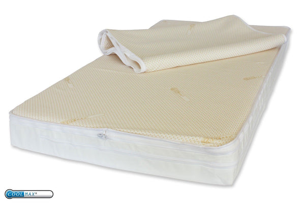 Easychange® Dependable Cot Mattress - Natural  Coir & Lambswool -Pocket Springs - Coolmax Toppers - 7 Sizes - Cot Mattress Company