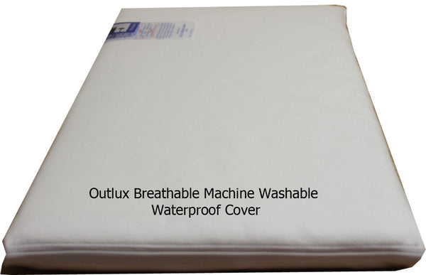 The NightyNite® Natural Crib Mattress with Outlux Cover - 7 Sizes - Cot Mattress Company