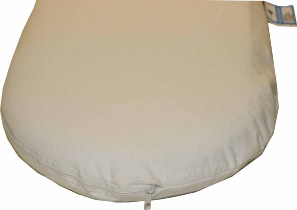 Natural Moses Basket Mattress with Outlux or Coolmax Cover - 7 Sizes - Cot Mattress Company
