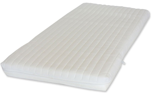 Ambassador Foam Crib Mattress, Waterproof liner - Washable Microfibre Cover Available In Six Sizes - Cot Mattress Company