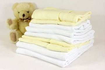 100% White Cotton Fitted Sheets –83 x 50  Next To Me Crib - Cot Mattress Company