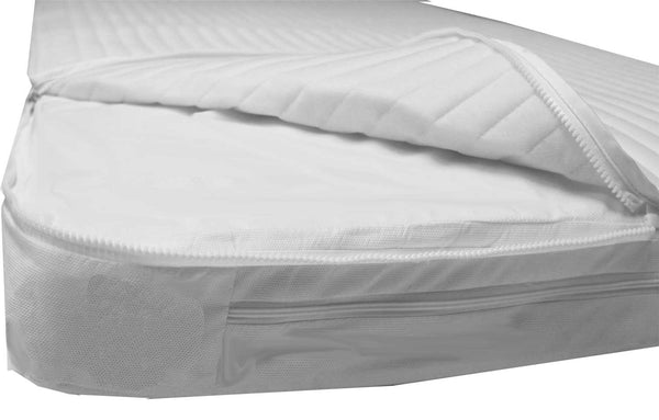 Easychange® Cot Mattress, Pocket Springs,  Two Microfibre Toppers - 8 Sizes, Save £40 - Cot Mattress Company