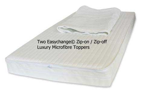 Nightynite Microfibre Cot Mattress EasyChange® Toppers - Cot Mattress Company