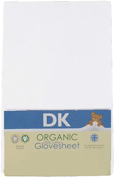 Boori Fitted Organic  Cot  Sheets – 132 x 77 Pack of Two - Cot Mattress Company