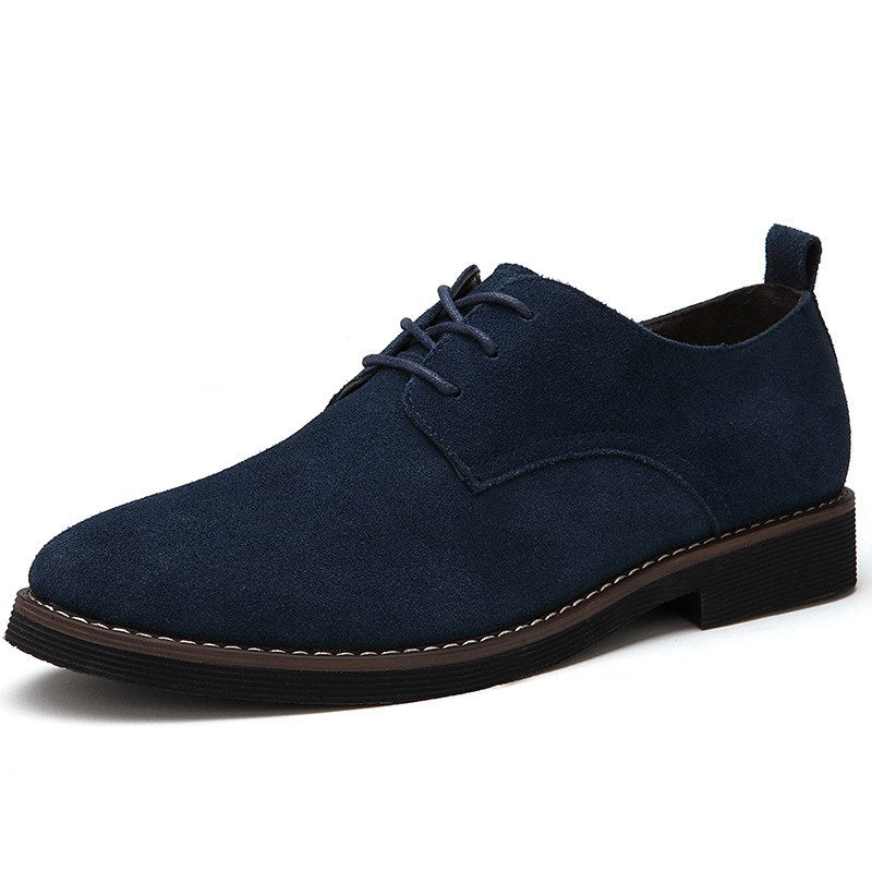 Oxford Shoes In Blue