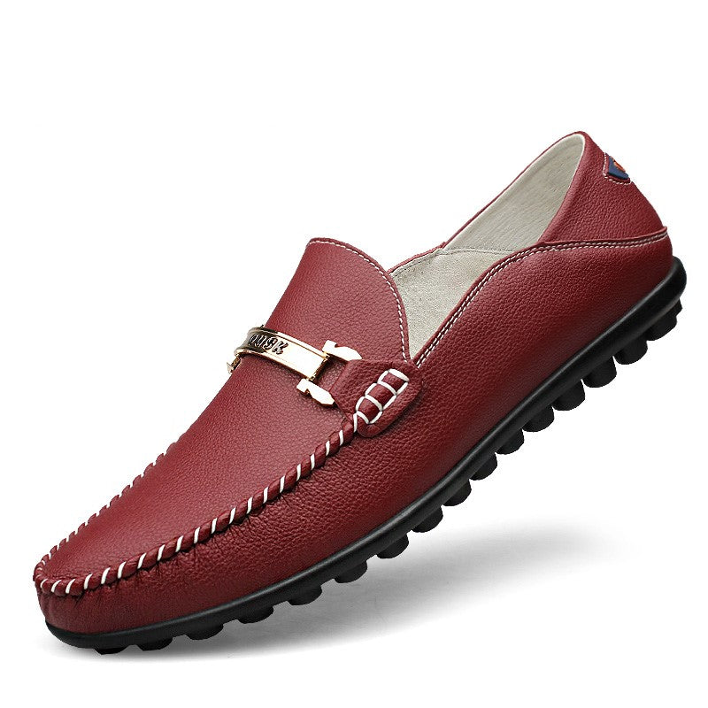 Loafers 1395 In Wine Red
