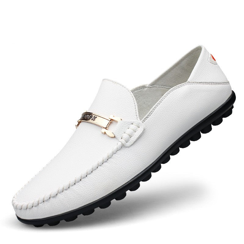 Loafers 1395 In White