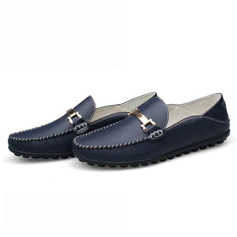 Loafers 1395 In Blue