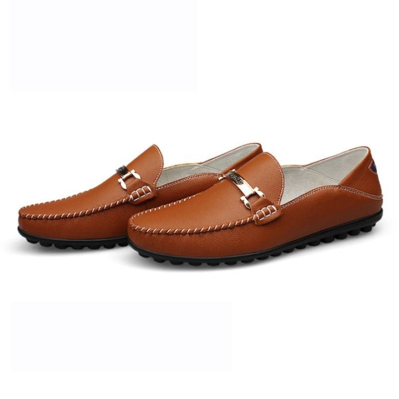 Loafers 1395 In Brown