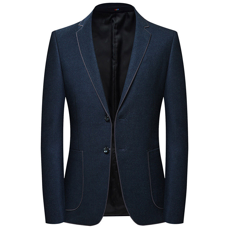 Simple Blazer In Navy Blue
