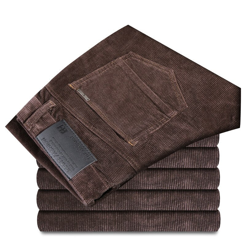 Corduroy Pants In Brown
