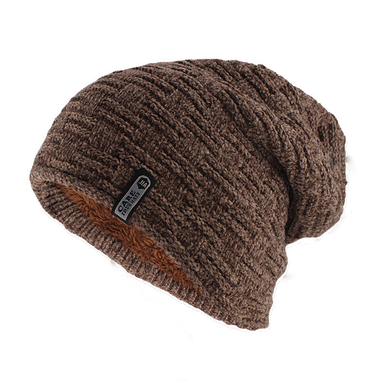 Simple Casual Beanie In Khaki