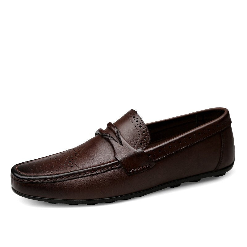 Fashionable Loafers In Brown