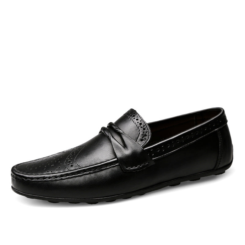 Fashionable Loafers In Black