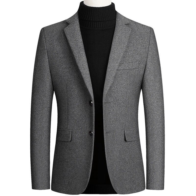 Quality Casual Blazer In Gray