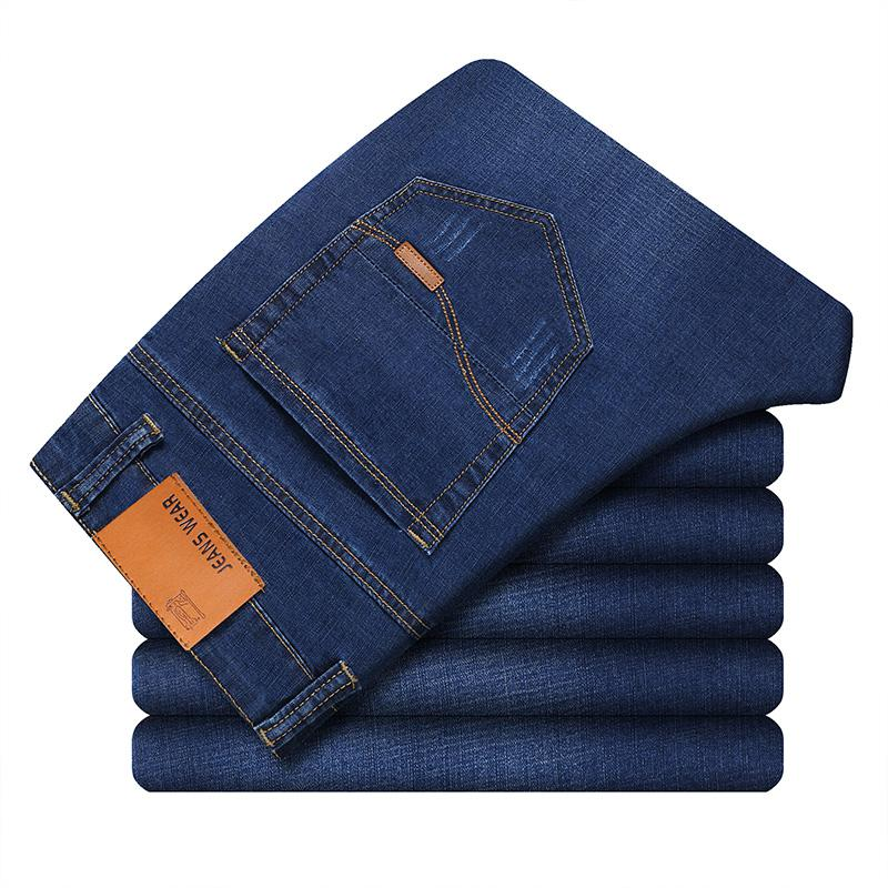 Classic Soft Jeans In Blue