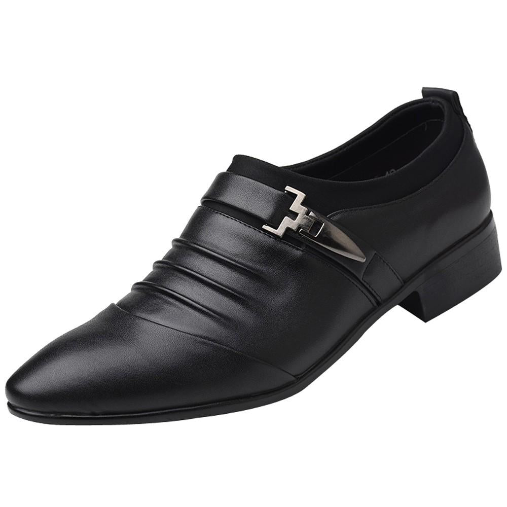 Simple Business Shoes In Black