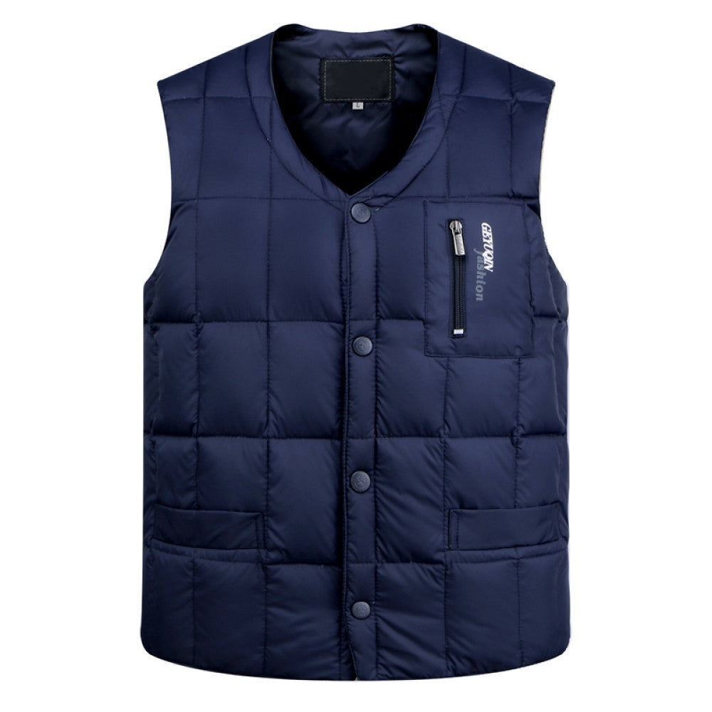 Ultralight Vest In Navy Blue