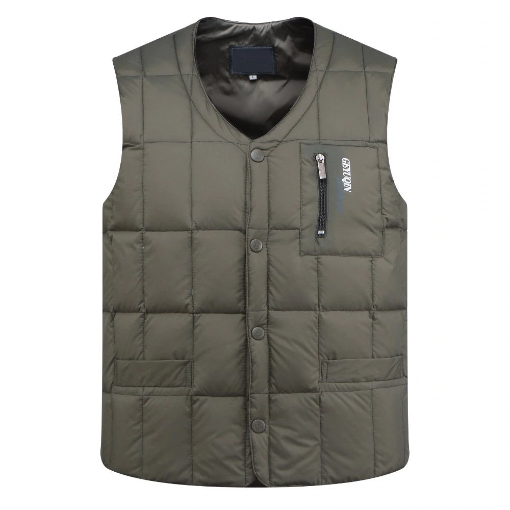 Ultralight Vest In Army Green