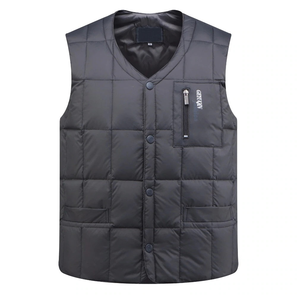 Ultralight Vest In Gray